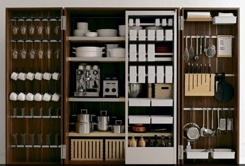 kitchen storage, kitchen organization