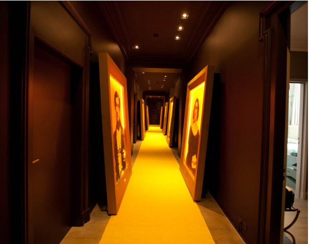 Vueve Hotel Du Marc Hallways