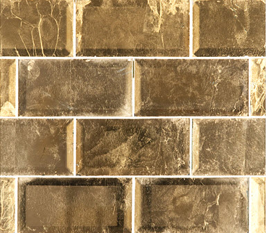 gold leaf glass tiles