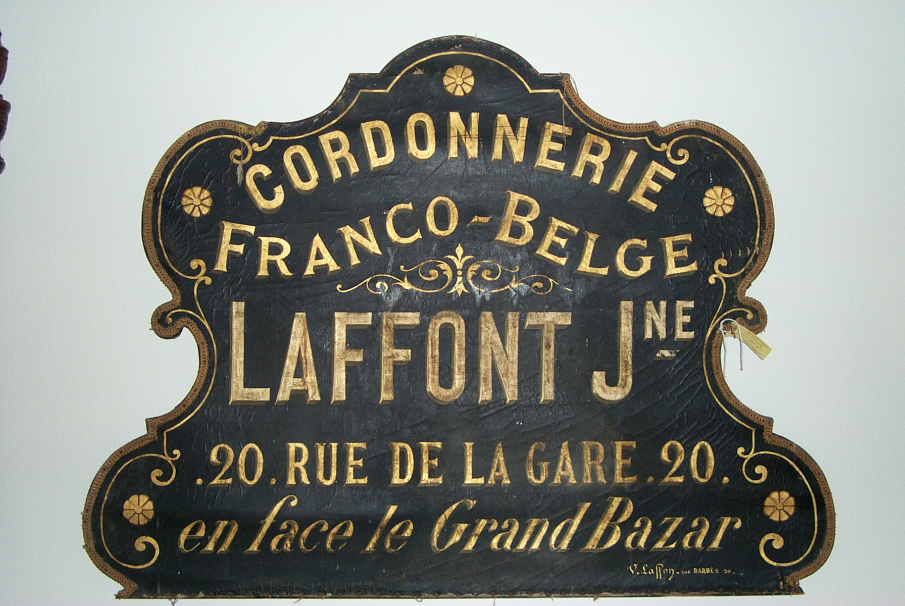 Antique French Store sign