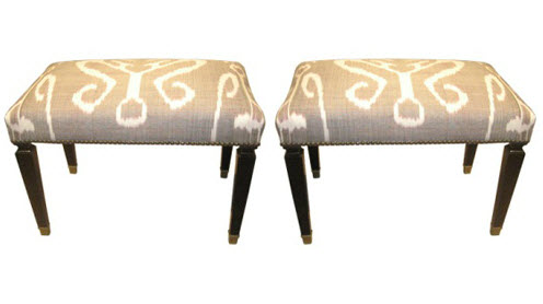 ikat benches