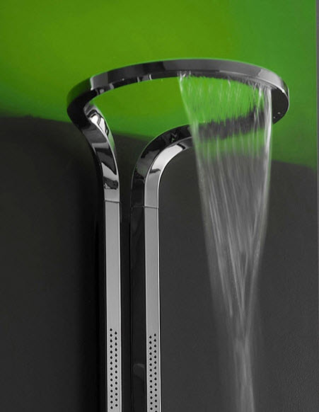 contemp shower head by graff -infinity