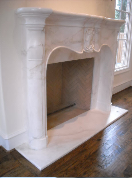 Faux marble for Faux marble fireplace mantels