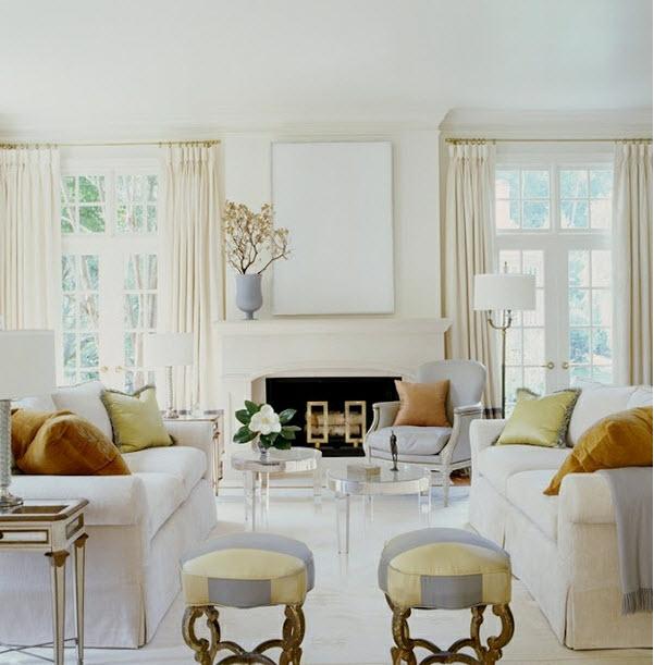 white interior Suzanne Kasler